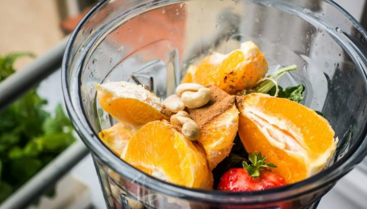 High Speed Blender with fruits