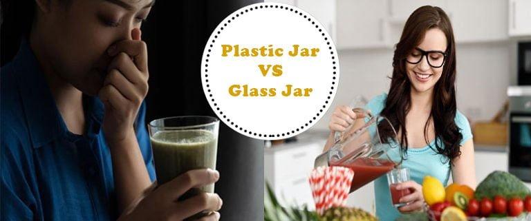 Odour environment between plastic jar vs glass jar