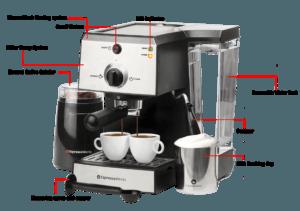 Espresso works espresso machine feature