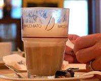 Macchiato coffee