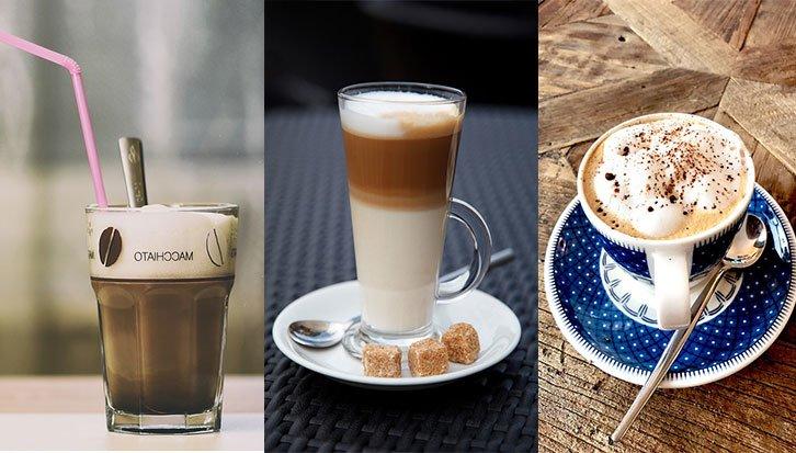Macchiato vs Latte vs Cappuccino
