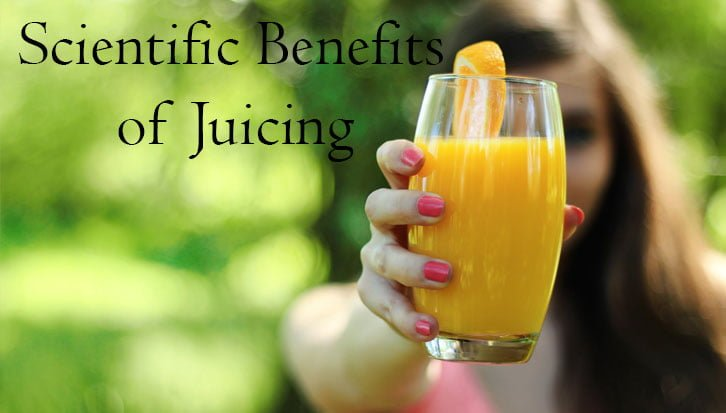 scientific benefits of juicing