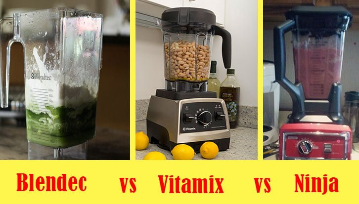 Blendtec vs Vitamix vs Ninja