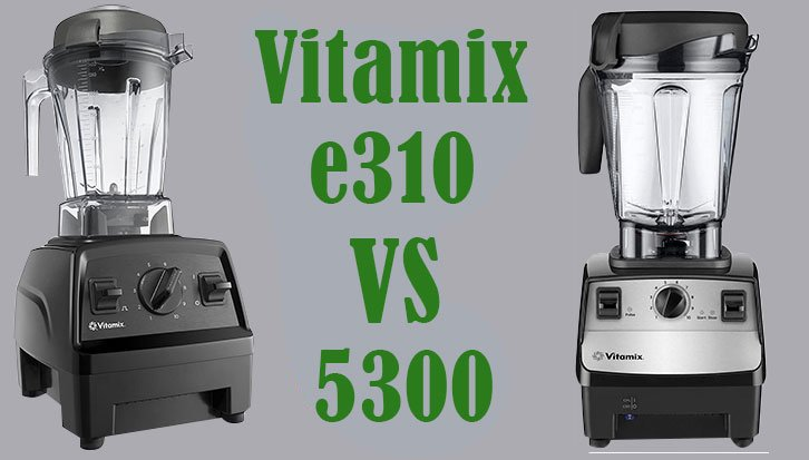 vitamix e310 vs 5300